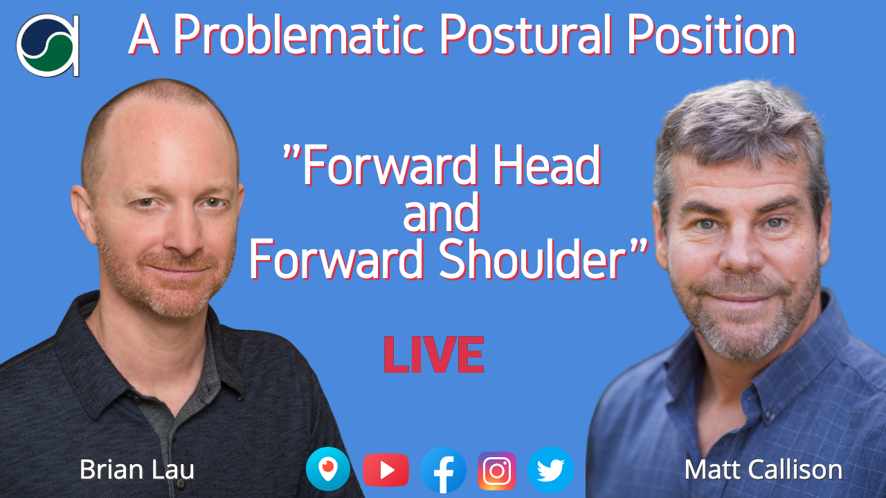 Forward Head and Shoulder Posture Issues